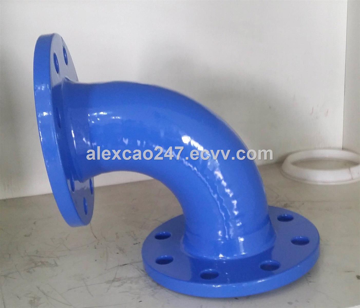 Ductile Cast Iron Flange Bend EN545