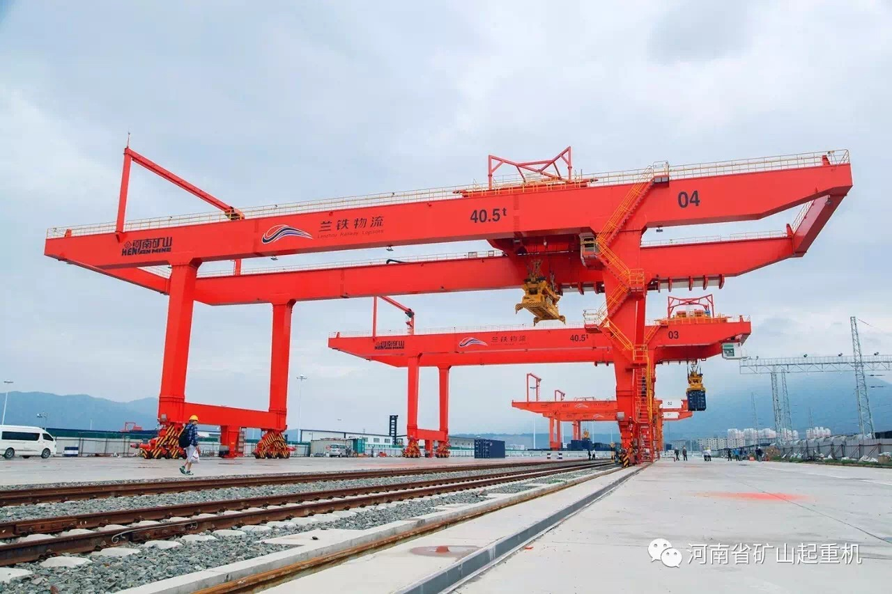 Mine source crane quality is well recognized by international customers
