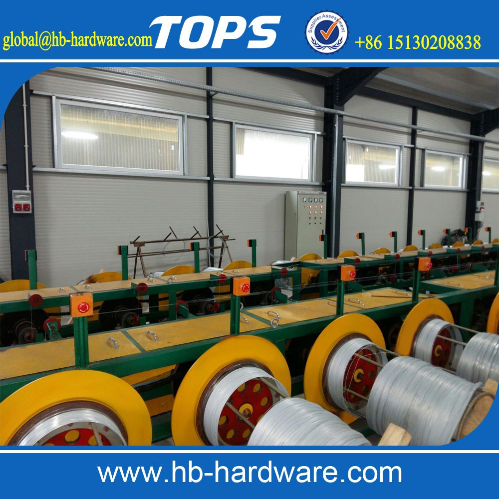 electro galvanized wire machinegalvanized wire producing line