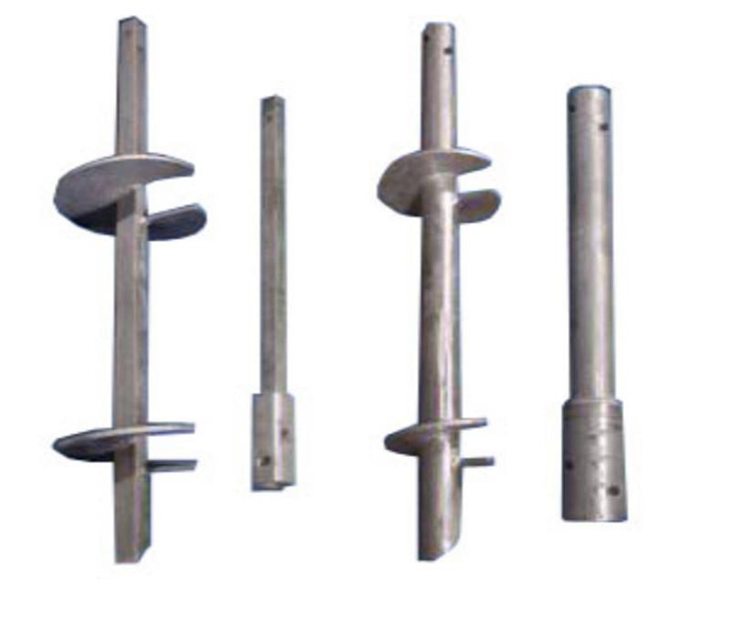 Hot dip galvanizedplain Helical PilesScrew Anchors