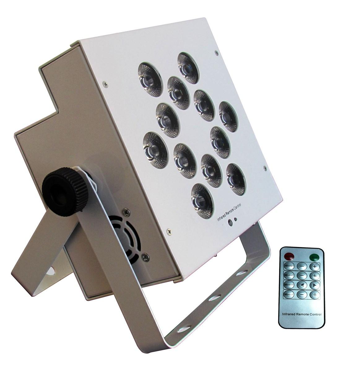Rasha Hot Sale 12pcs18W 6in1 RGBAW UV Battery Powered Wireless LED Par Light with Remote Control Stage Light