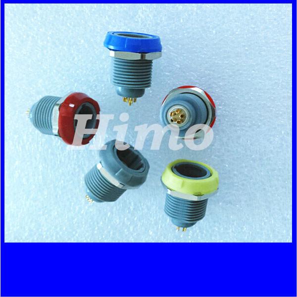 4pin 5pin 6pin 7pin 8pin 1P series plastic lemo medical connector