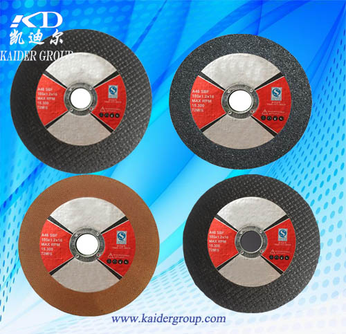 China Resin Bonded Grinding Disc for stainless steel factory