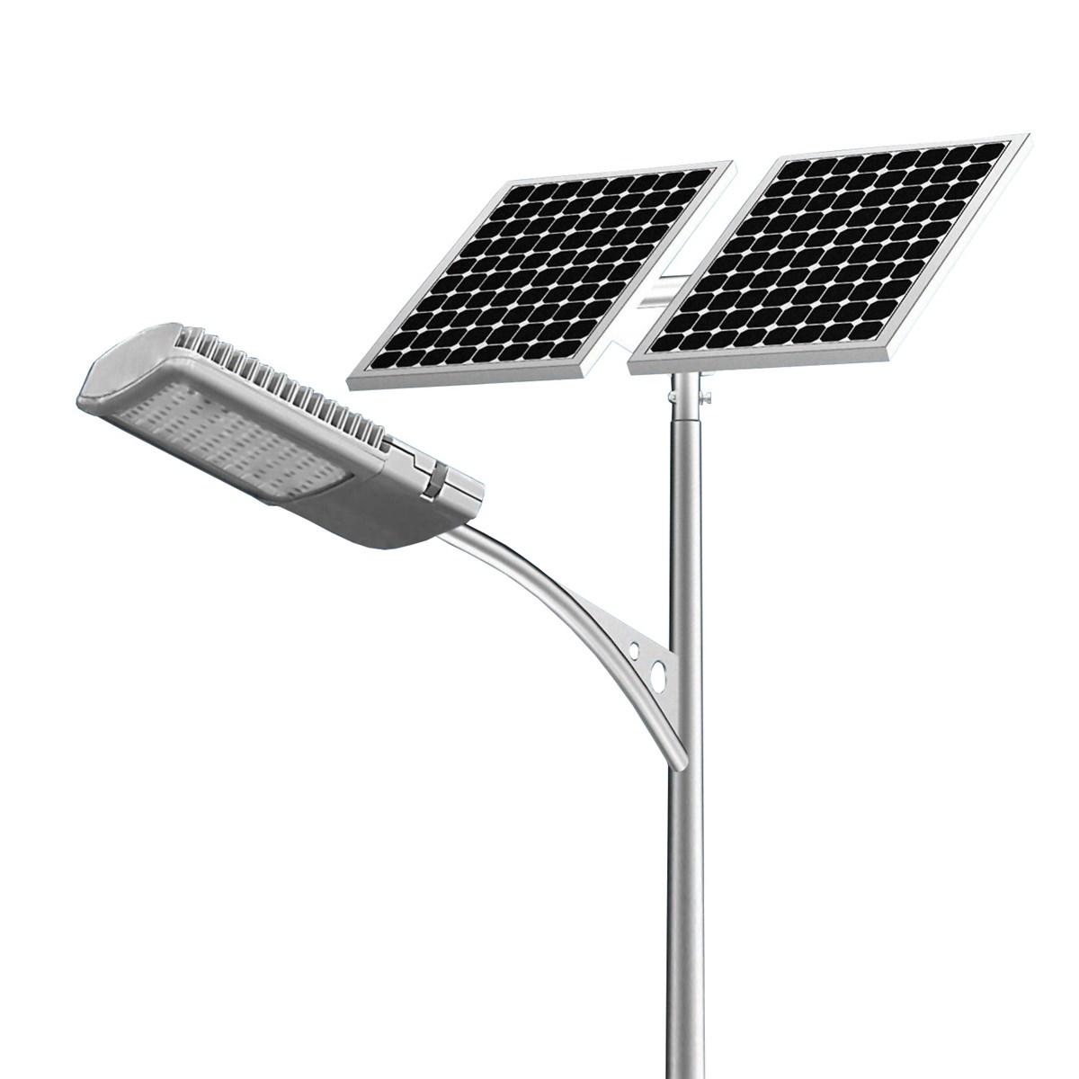 Solar LED Street Lighting Poles