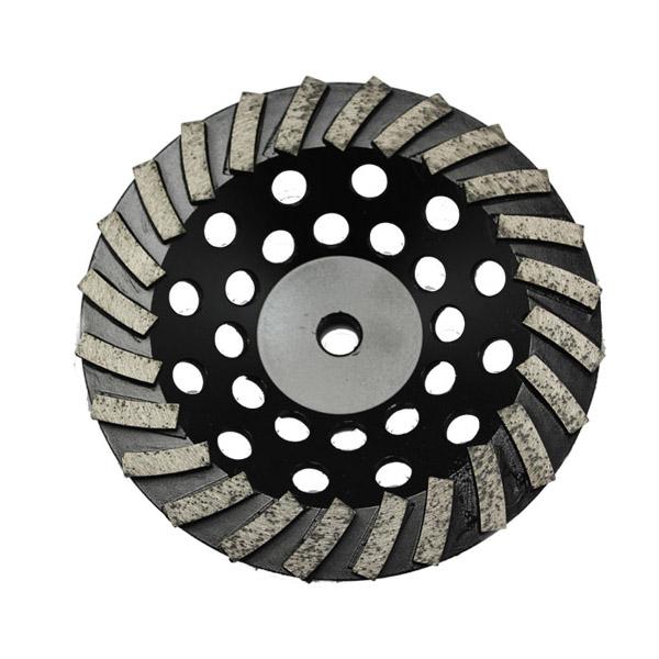 Diamond grinder wheel concrete