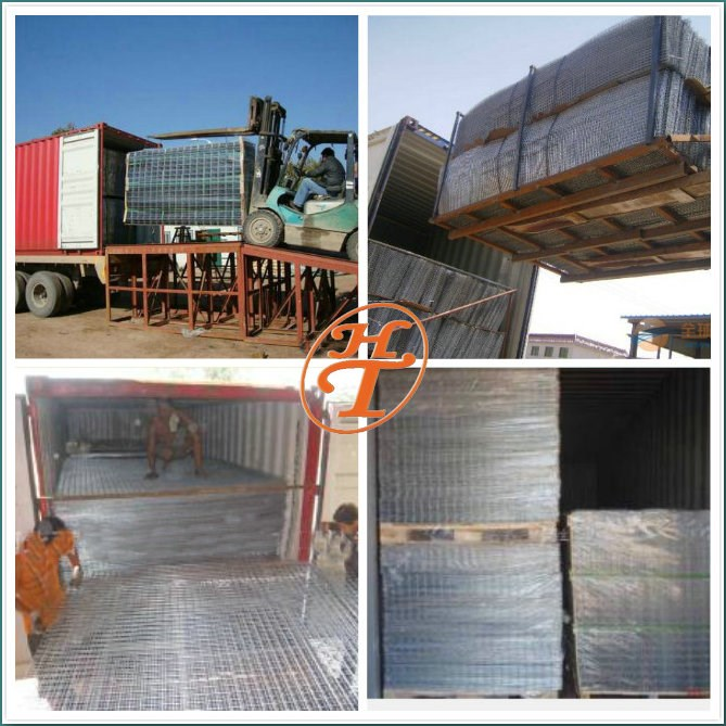 Square Hole Shape and Construction Wire Mesh Application Welded wire mesh Panels