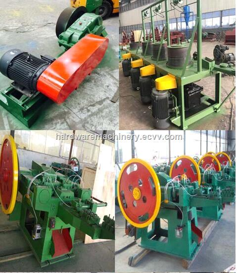 China high speed 16 inch Automatic wire nail manufacturing machine