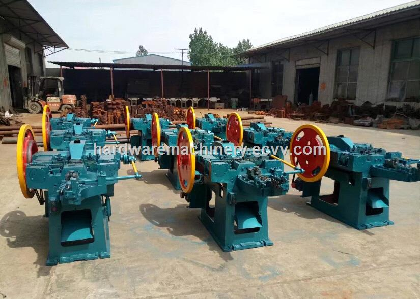 CE certifed Automatic wire nail making machine factory design and competitive price