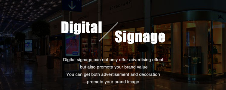 Wall mounted outdoor LCD DIGITAL SIGNAGE Multimedia Advertising Player Display with High brightness