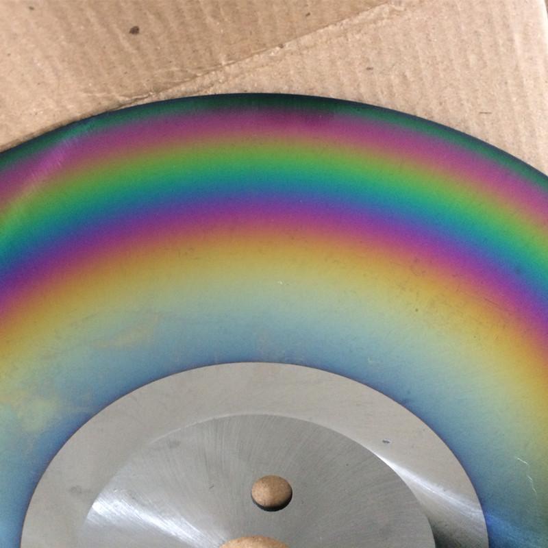 TIALN coating colorful M2 steel HSS circular saw blade