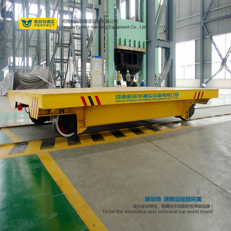 Factory Use Transfer Car Robust Railcar for Material Handling