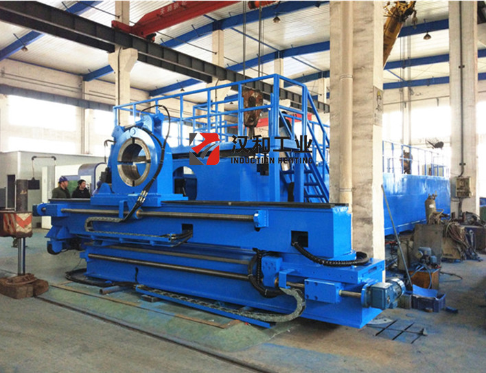 CNC PLC Control Induction Pipe Bending Machine for Steel Pipes