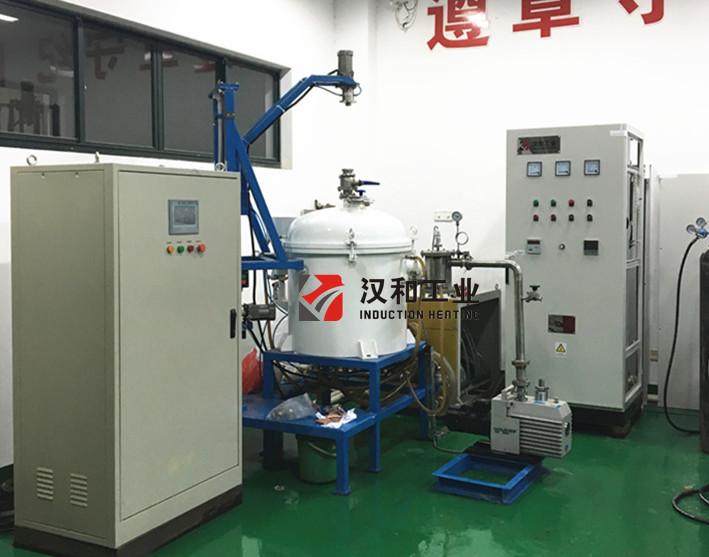 ZPL100 Vacuum Induction Heating Melting Furnace with Vacuum Pump Unit
