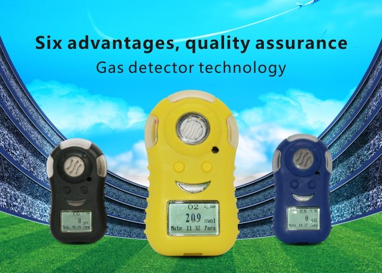 HuaFan QinLu Portable Gas Leak Detectors for Combustible LELEXCH4 Gas