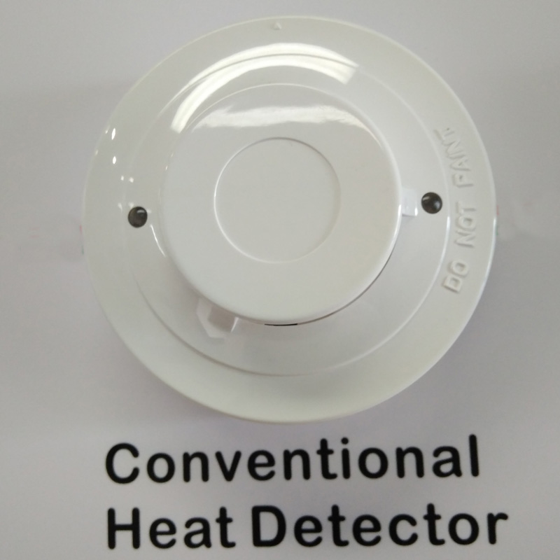 2wire conventional Heat detector Heat alarm sensor with a rateofrise temperature sensor for fire alarm system