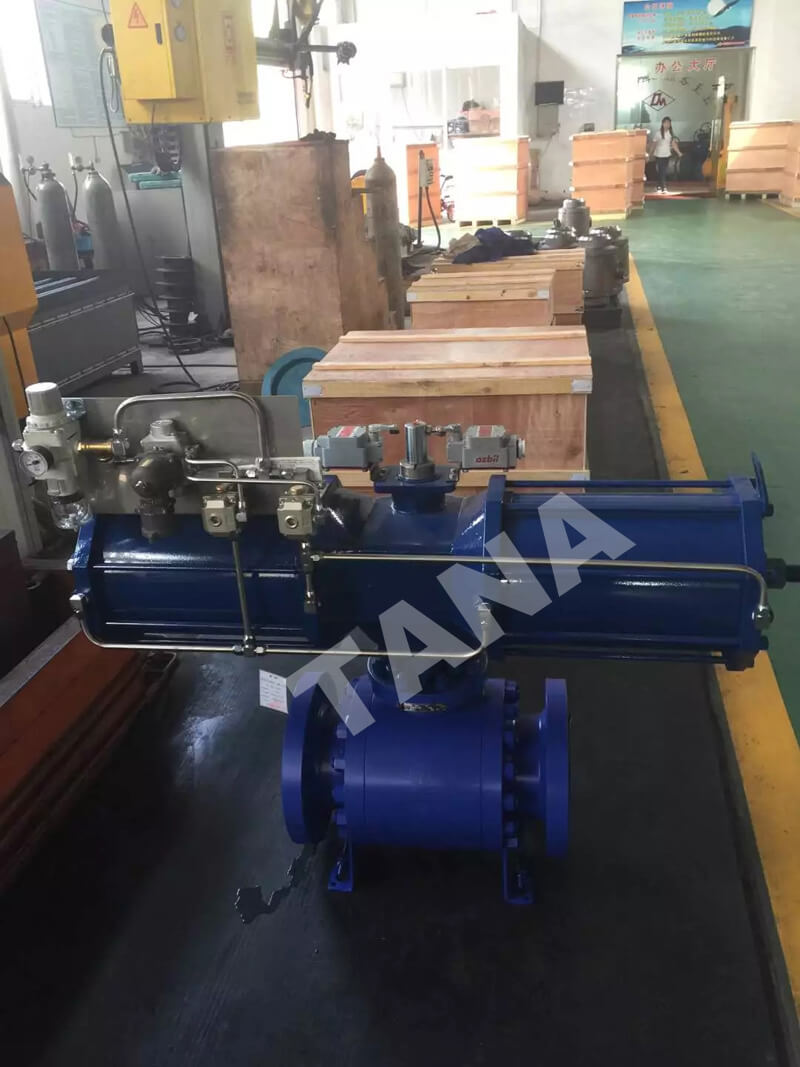 3 piece A105 forged steel ball valve