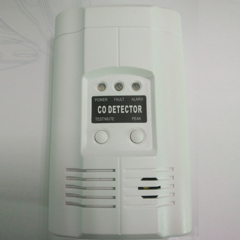 AC220V Powered PlugIn Carbon Monoxide Alarm co gas detection ideal for all house and kitchens