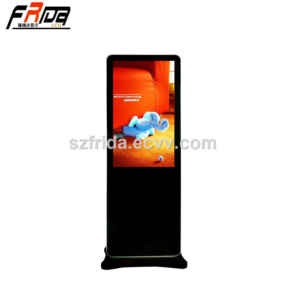 43 Inch TFT LCD Digital Signage Panel Indoor Floor Standing for Multimedia Advertising Display Screen Full HD