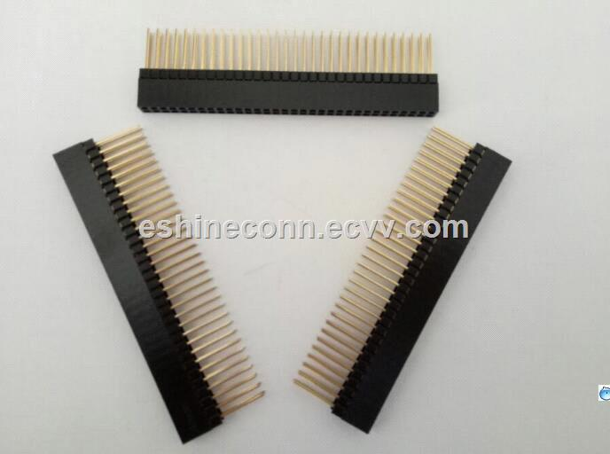 40Pins PC104 terminal strip alternate Samtec connector 20mm straight angle Type