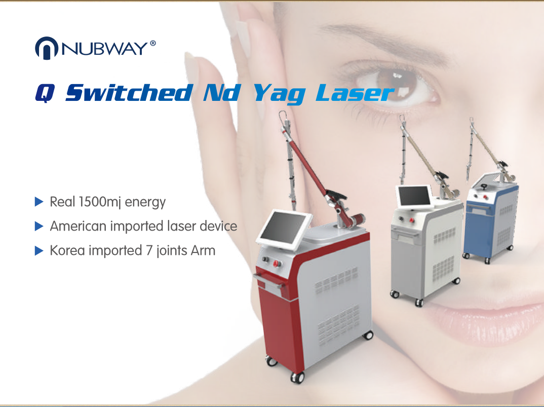 Q Switched Nd Yag Skin Care Machine NBW1000
