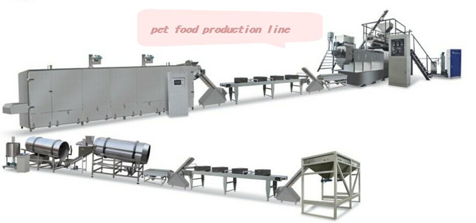 Top quality dog food making machine fish feed processing equipment pet food machine