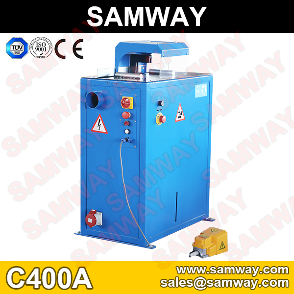 Samway C400A Hydraulic Hose Cutting Machine