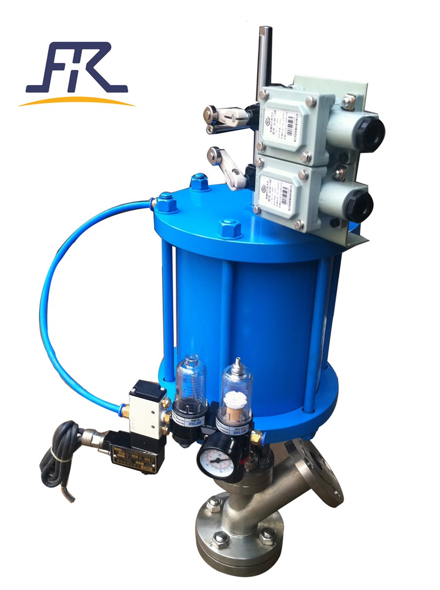 Bottom Outlet Valvestank botttom feeding valve
