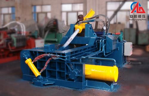 Hydraulic Baling Press for metal scrap recycling