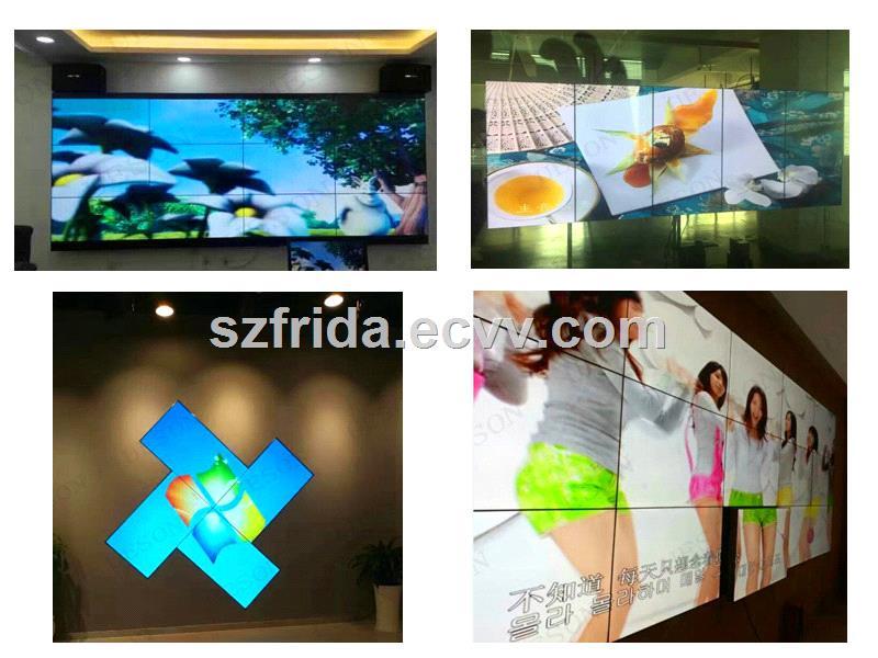 46 Inch LCD Video Wall Display Screen Stitching gap 55mm