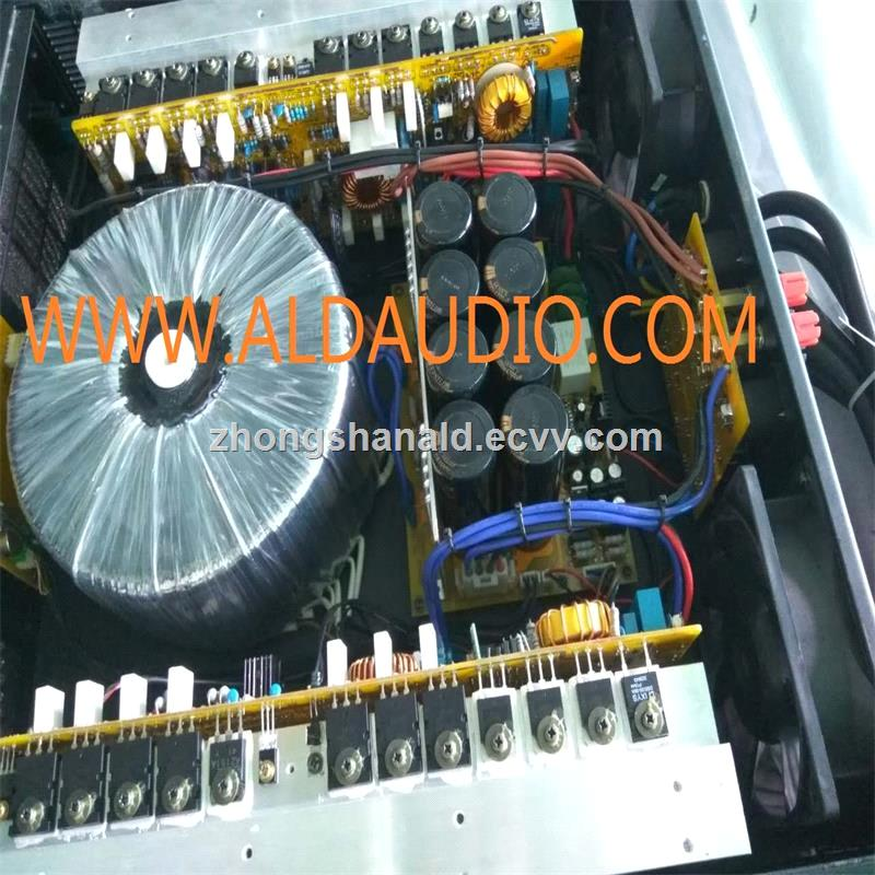 hot sale class TD 2x2400W power amplifier high dynamic professional power amplifier