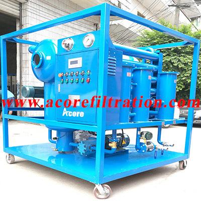 Vacuum Transformer Oil Purifier Machine Made In China