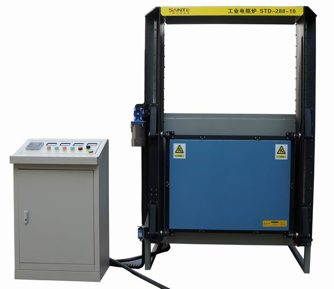 Industrial Muffle Furnace for Heat Treatment