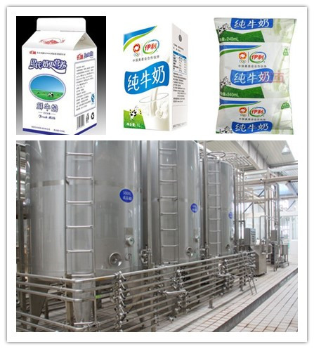 Dairy and milk processing line