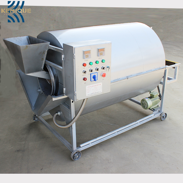 Automatic rolling commercial seed roasting machinepeanut baking equipment