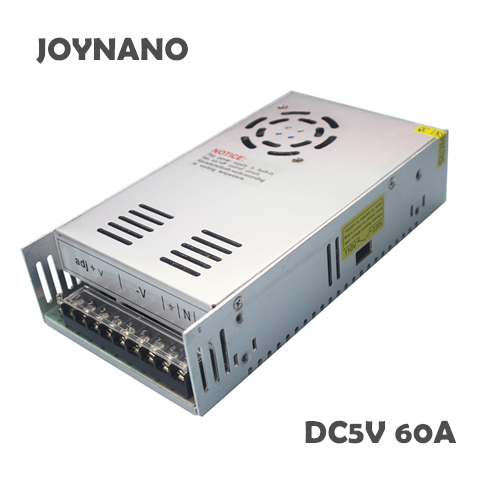 JoyNano 300W Switching Power Supply 5V 60A ACDC Converter Transformer