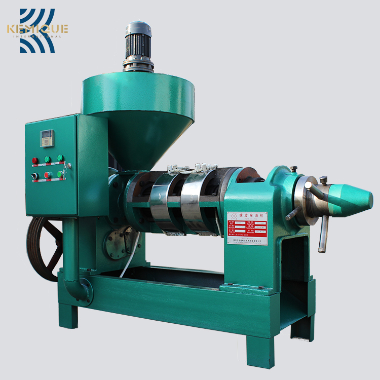 Small type full automatic home use oil press machineoil fryer