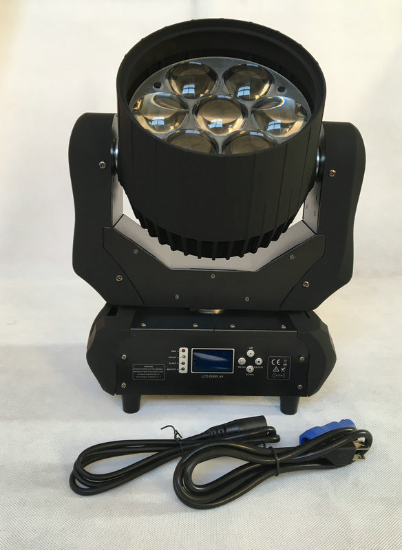 Rasha New Arrival 7leds40W RGBW ZOOM WASH LED Moving Head Light DJ Moving Head Effect For Event Party