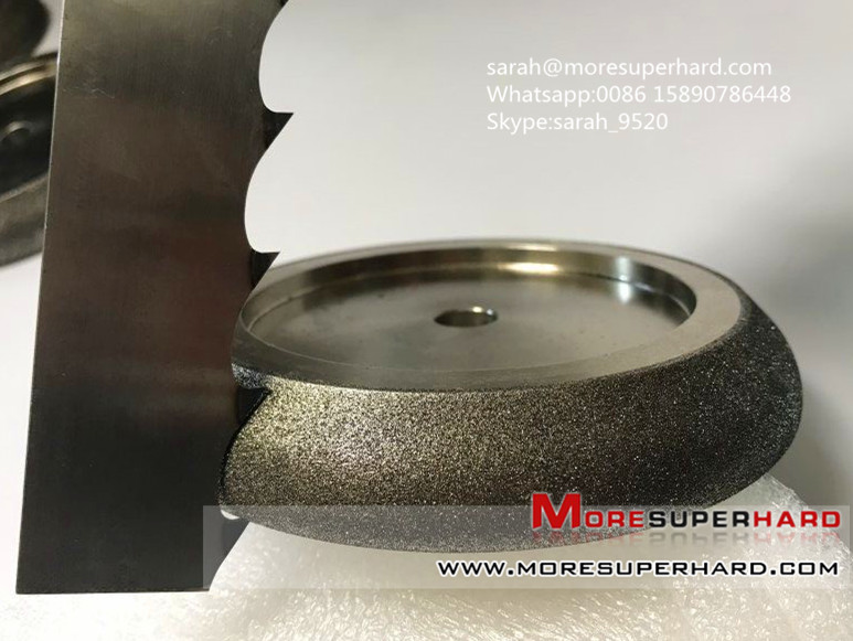 Electroplated CBN Grinding Wheels For Band Saw Blades
