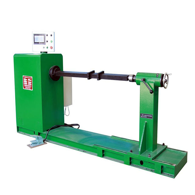 Hand operated coil winding machine for transformer