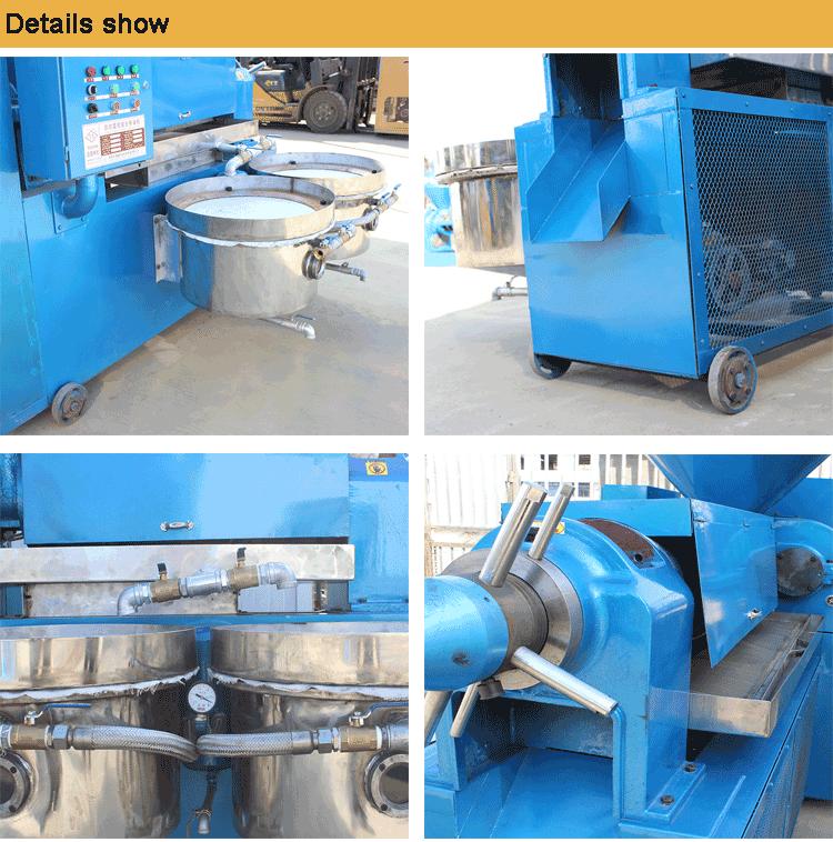 oil processing machine