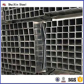 ASTM A500 galvanized square structure steel pipetube