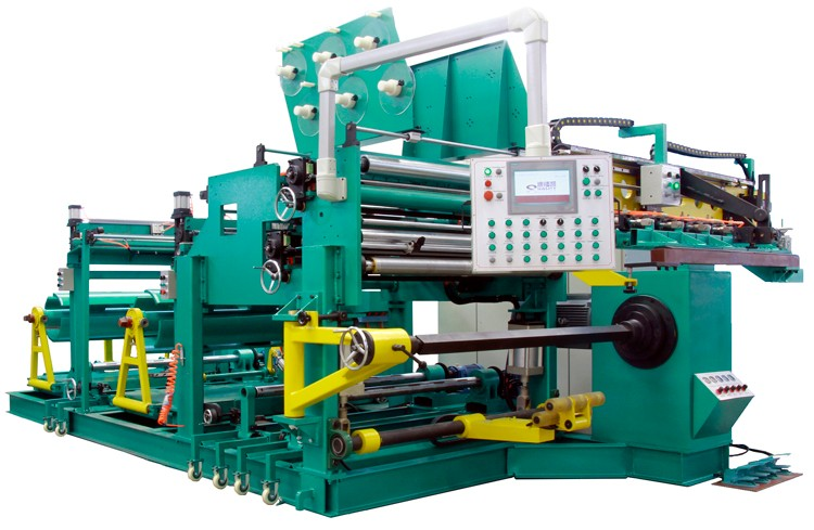 Double Layer Width 1200mm Foil Coil Winding Machine for Transformer