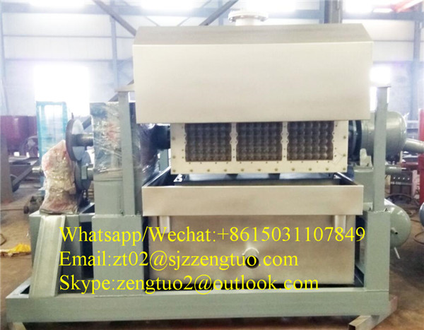 2000 ph Full automatic save energy egg tray machine with unique technology