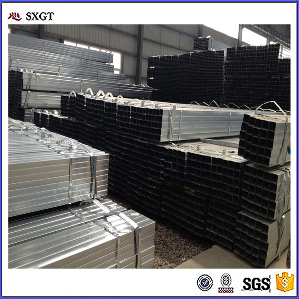 Pre galvanized square hollow sectionQ235 rectangular steel pipe