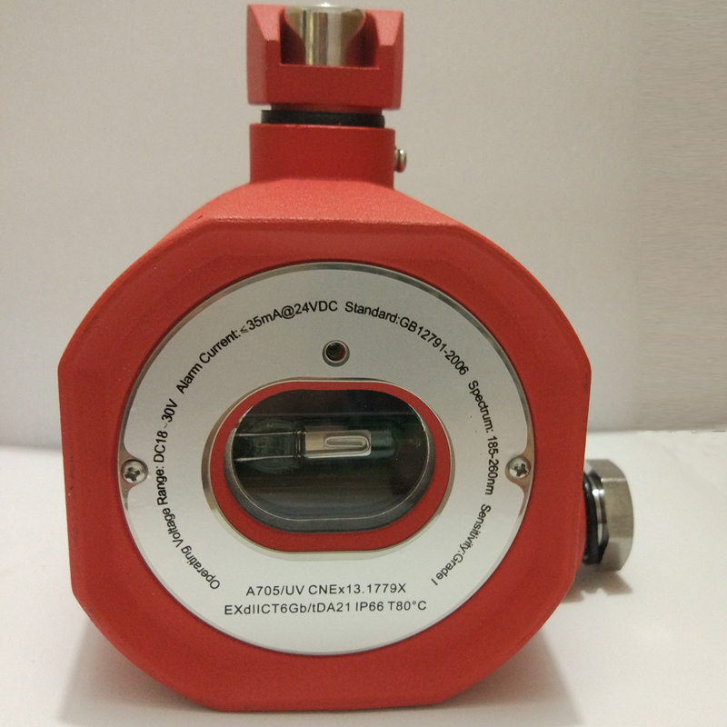 Dry Contact ExplosionProof UV Flame Detector UV Fire Alarm with Relay Output EXdIICT6