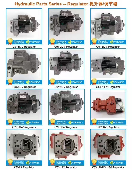 K3V112DT Hydraulic Pump Regulator G9N G9C GHN