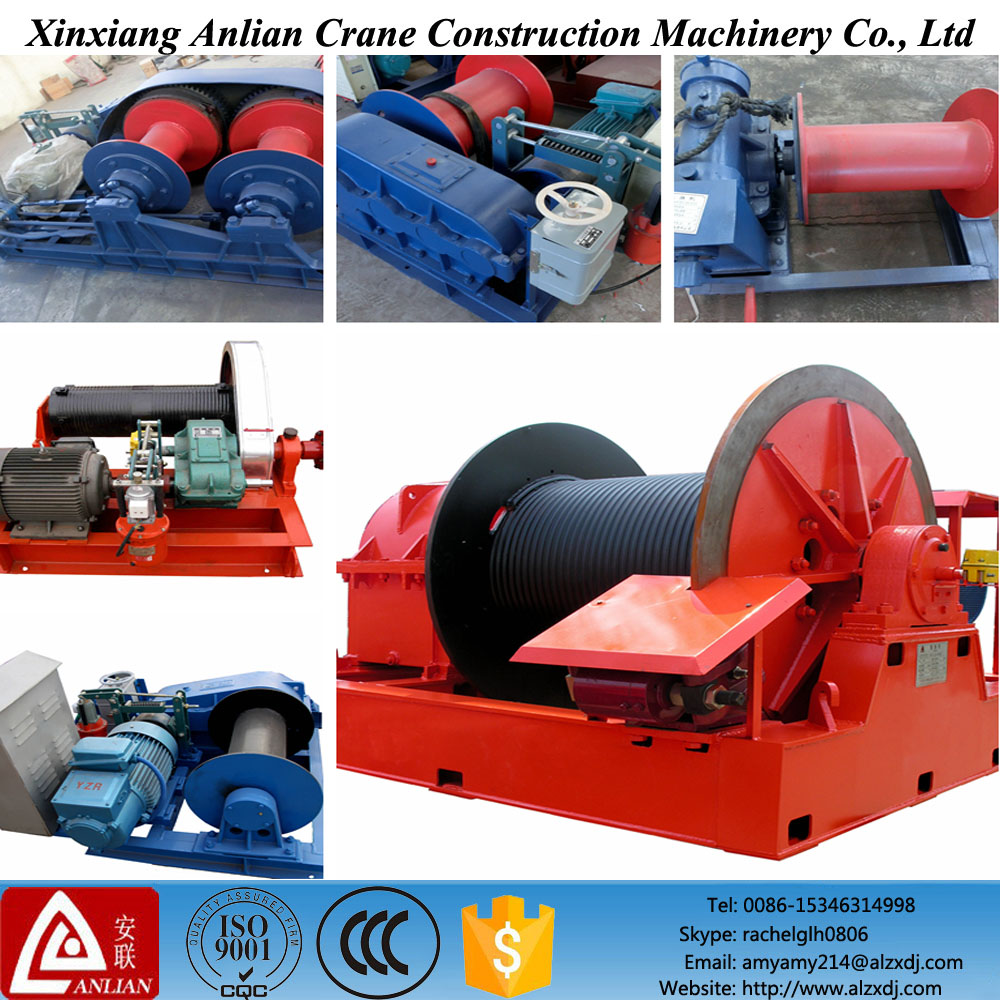Heavy duty consturction used electric winch for sale