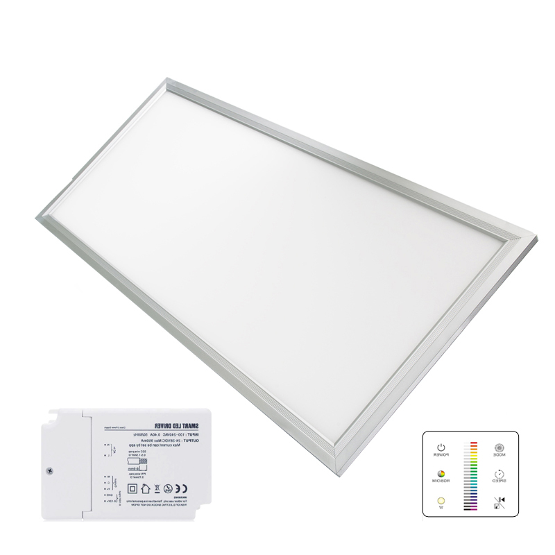 Wifi 24G Control LED Panel Lights with CCT Changing