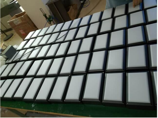 LED Wall lamp outdoor 20W Square LED wall lamp 1600lm outdoor wall light fixture high power 6000K