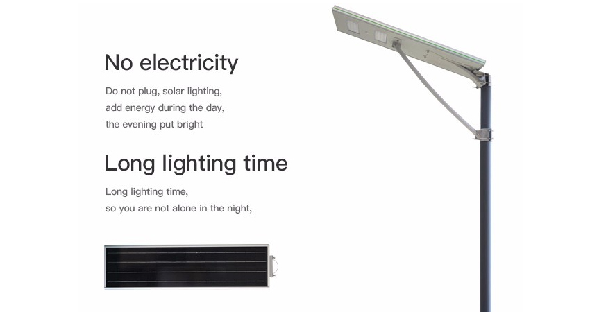 20W LED Solar Power Street Light Integrated Solar Outdoor Lighting